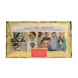 ARTHOUSE Unlimited Portraits Handmade Dark Chocolate - 100g