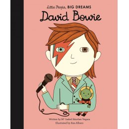 Little People Big Dreams Hardback Book: David Bowie