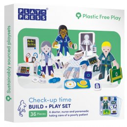 Play Press Toys Check-up Time Build and Play Set
