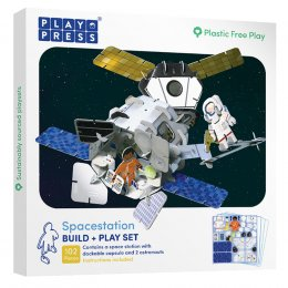 Play Press Toys Space Station Build and Play Set