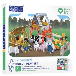 Play Press Toys Farm Build and Play Set