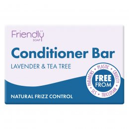 Friendly Soap Lavender & Tea Tree Conditioner Bar - 95g