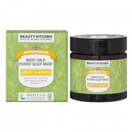 Beauty Kitchen Abyssinian Oil Night Halo Potent Sleep Mask - 60ml