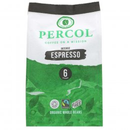Percol Espresso Whole Bean Coffee - 200g