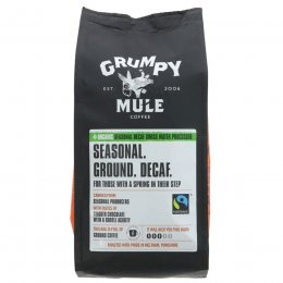 Grumpy Mule Decaffeinated Ground Coffee -  227g