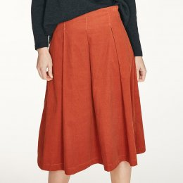 Thought Hiram Skirt - Spiced Orange