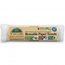 If You Care Reusable Paper Towels - 12 Sheets