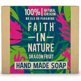 Case of 6 - Faith in Nature Soap - Dragonfruit - 100g