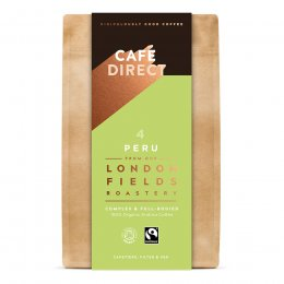 Cafedirect London Fields Peru Organic Roast & Ground Coffee - 200g