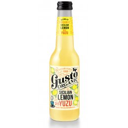 Case of 12 - Gusto Sicilian Lemon with Fresh Yuzu - 275ml