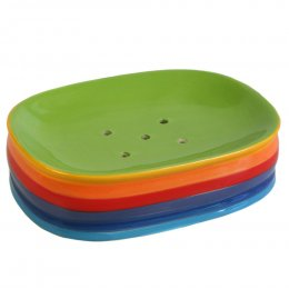 Handpainted Rainbow Soap Dish