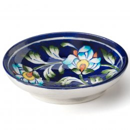 Floral Hand Painted Soap Dish