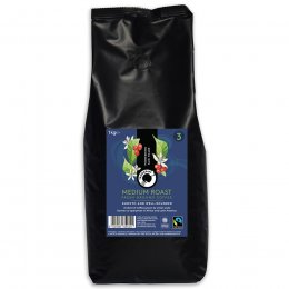Traidcraft Organic Medium Roast Ground Coffee - 1kg