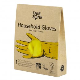 Fair Zone Yellow Rubber Gloves