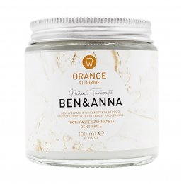 Ben & Anna Natural Toothpaste with Fluoride - Orange - 100ml