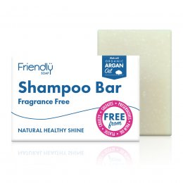 Case of 6 - Friendly Soap Fragrance Free Shampoo Bar -95g