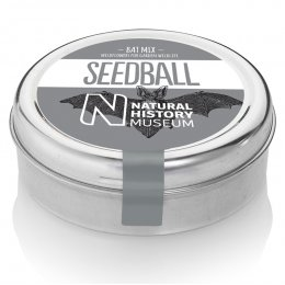 Natural History Museum Bat Mix Seedball Tin
