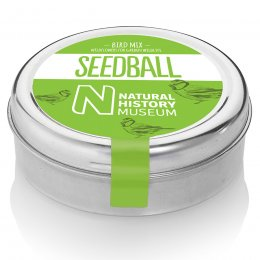 Natural History Museum Bird Mix Seedball Tin