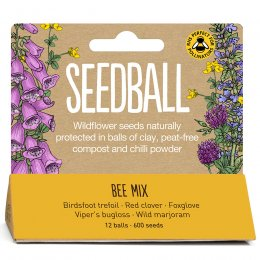 Bee Mix Seedball Tube