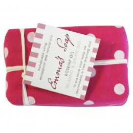 Emmas Soap Rosehip Oil Relaxing & Balancing Geranium Soap Bar
