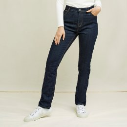 People Tree Heather Slim Fit Jeans - Dark Blue
