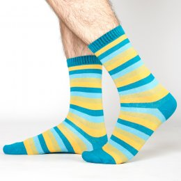 Nomads Lagoon Stripe Socks - UK7-11