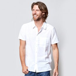 Nomads White Short Sleeve Shirt