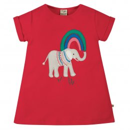 Frugi Sophie Elephant Applique Top