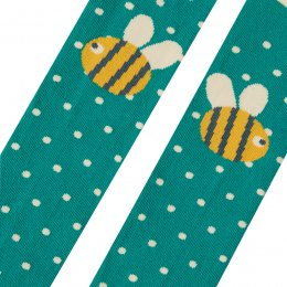 Frugi Fun Bee Knee Tights