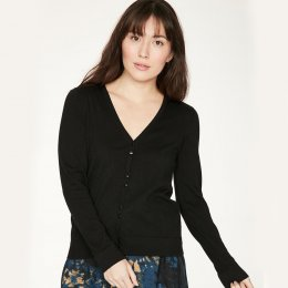 Thought Loren Cardigan - Black