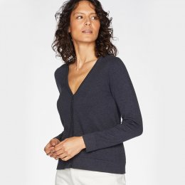 Thought Loren Cardigan - Birch Grey