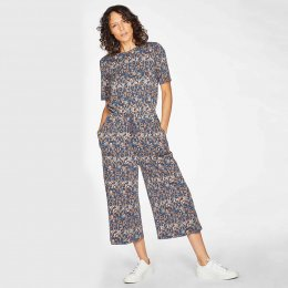 Thought Madelyn Jumpsuit - Mid Blue