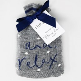 Thought And, Relax Socks in a Bag - 1 Pair