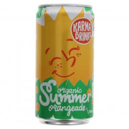 Case of 24 - Karma Drinks Organic Summer Orangeade Can - 250ml