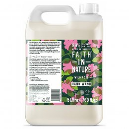 Faith in Nature Wild Rose Hand Wash - 5L