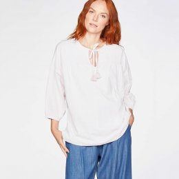 Thought Fairtrade Organic Cotton Blouse - White