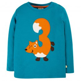 Frugi Magic Number T-Shirt - 3yr