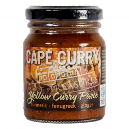 Cape Treasures Yellow Curry Paste - 125ml