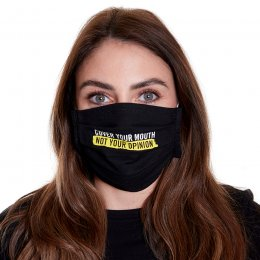 Amnesty Face Mask - Cover your mouth, not your opinion