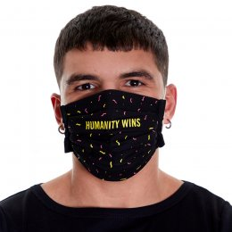 Amnesty Face Mask - Humanity Wins
