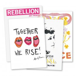 Amnesty Rebellion Art Prints - Set of 8