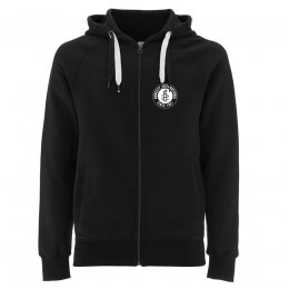 Amnesty Black Zip Up Hoodie