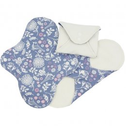 ImseVimse Garden Reusable Panty Liners - Pack of 3