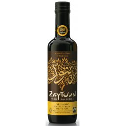 Zaytoun Fairtrade Extra Virgin Olive Oil - 750ml