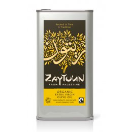Zaytoun Fairtrade Extra Virgin Olive Oil - 5 litres
