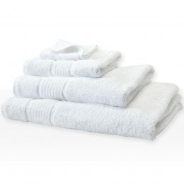 Fair Trade & Organic White Bath Towel