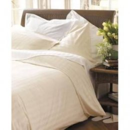 Organic Cotton Double Duvet Cover - Ecru